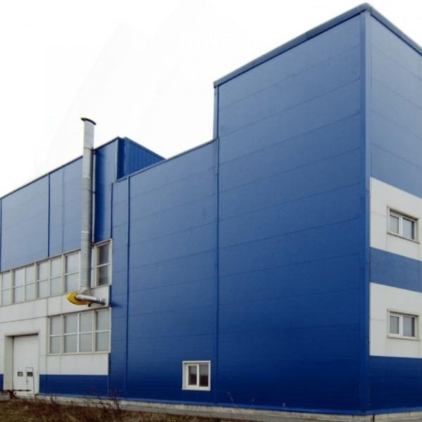 Закончено строительство производственного корпуса!